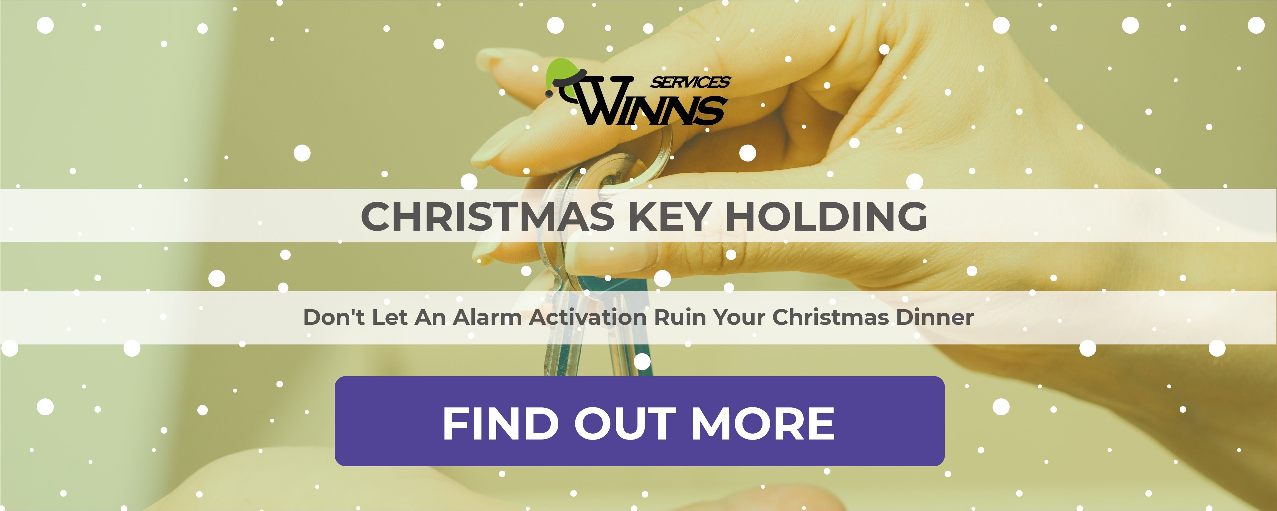 WINNS Christmas Security - Key Holding