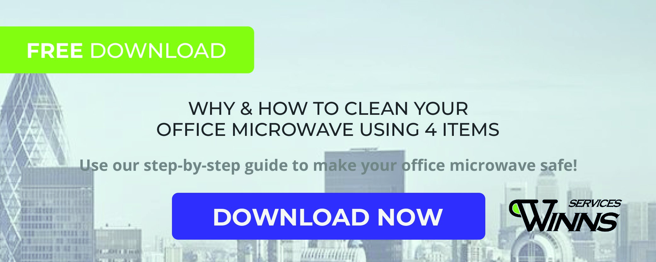 WINNS Step-By-Step Guide To Clean Your Office Microwave