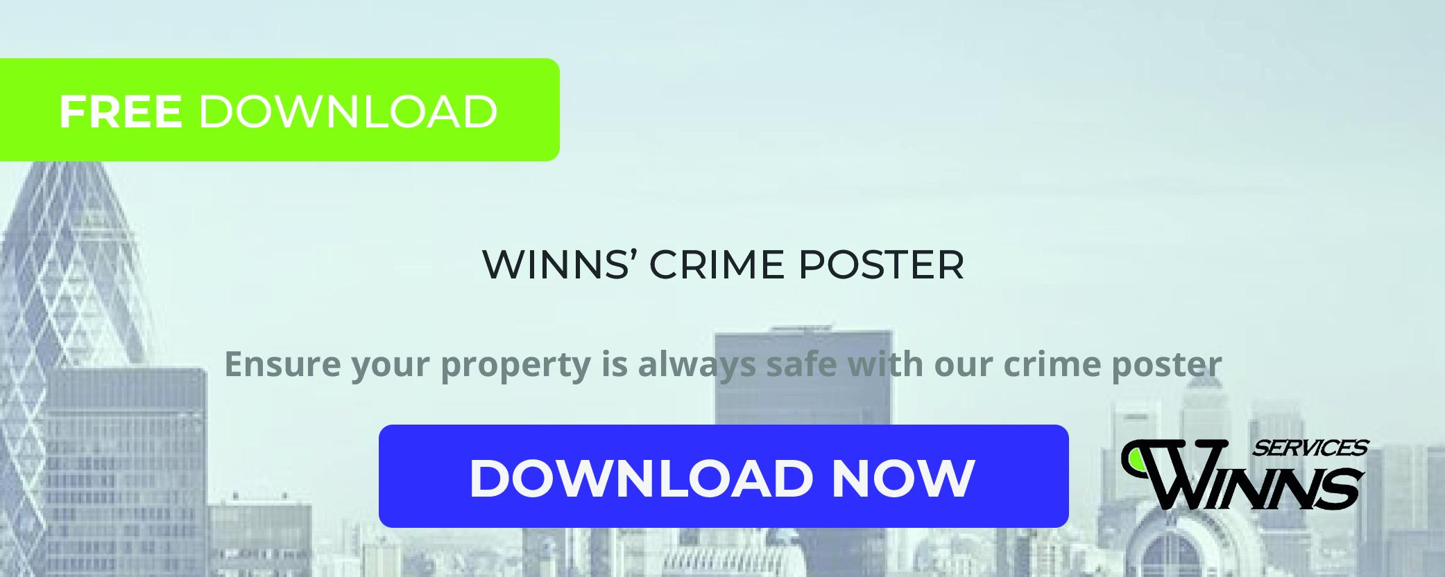 WINNS crime poster