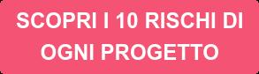 SCOPRI I 10 RISCHI DI OGNI PROGETTO