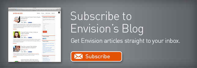 Subscribe to the Envision blog.