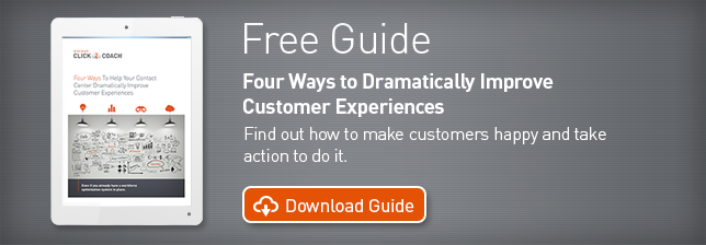 Four ways to dramatically improve customer experiences.
