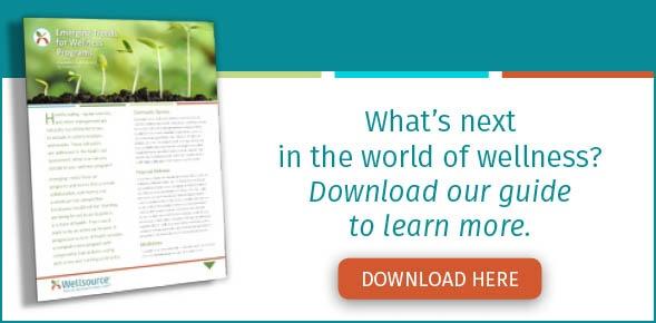Emerging trends for wellness programs
