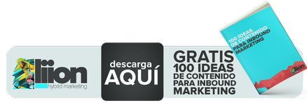 100 ideas de contenido para inbound marketing