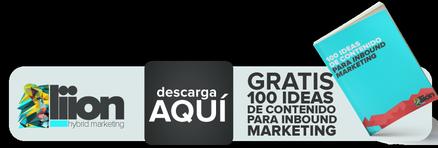 100 ideas de contenido para inbound marketing