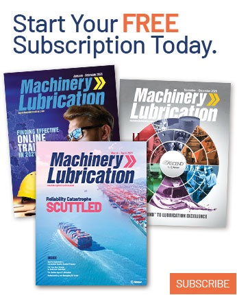 Subscribe to Machinery Lubrication