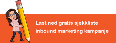 Last ned vår gratis sjekkliste for inbound marketing kampanje