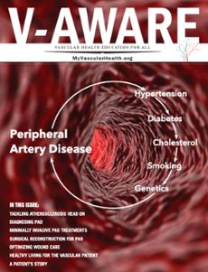 Peripheral artery disease magazine