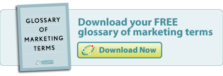 download your free glossary of marketing terms