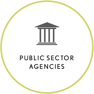 public sector agencies - learn more