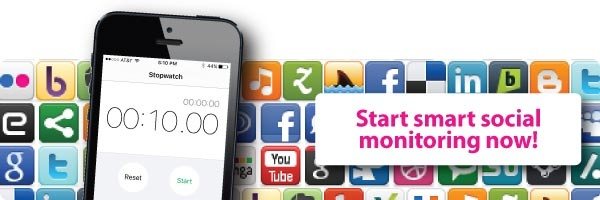 How to monitor social media in 10 minutes a day CTA image