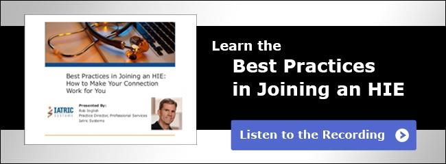 Learn the Best Practices in Joining an HIE webcast recording