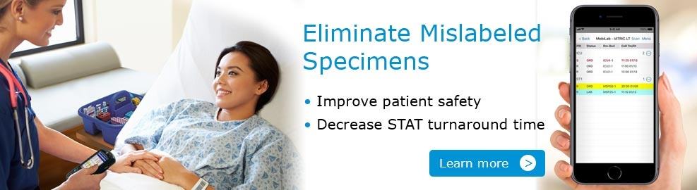 Eliminate Mislabeled Specimen - MobiLab