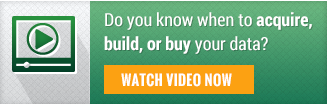Acquire Build or Buy Data Video