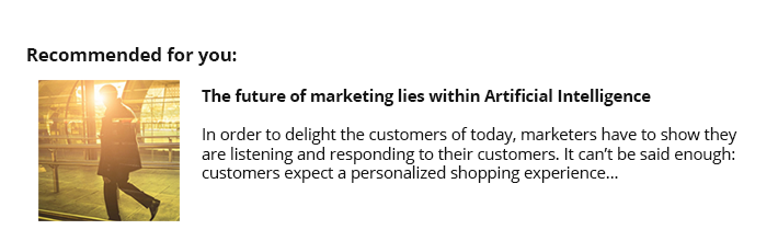 The Future of Marketing Lies within AI | Retention Science