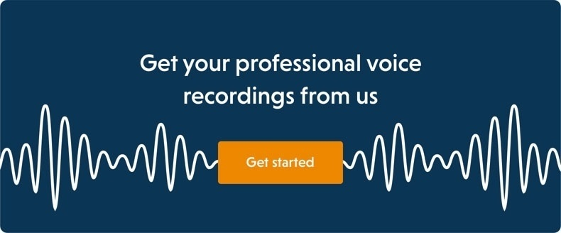 professional voice recording - PromptVoice
