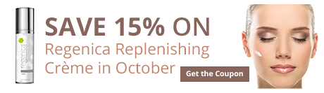 Save 15% on Regenica Replenishing Creme in October
