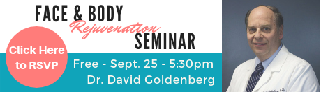 Free Cosmetic Seminar with Dr. David Goldenberg