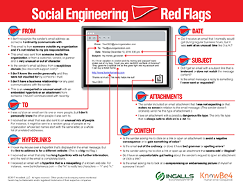 """Click to download the """"Social Engineering Red Flags"""" PDF"""