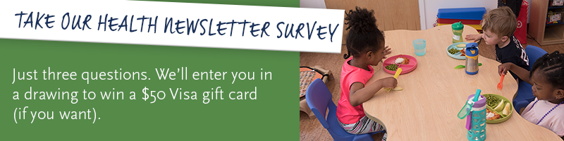 Take our health newsletter survey!