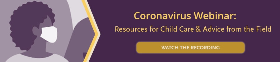 coronavirus webinar for child care professionals