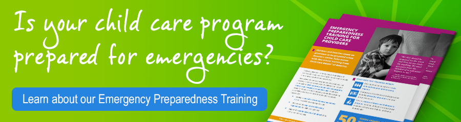 Learn about the Emergency Preparedness Training for Child Care Providers