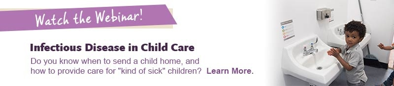 Infectious Disease in Child Care Webinar