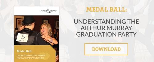 Download our guide Medal Ball:  Understanding the Arthur Murray Graduation Party