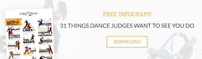 Download our infographic: 31 Things Dance Judges Want to See You Do