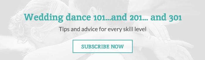Wedding dance advice for all skill levels on the Arthur Murray blog. Subscribe now!