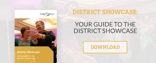 Download your guide to the Arthur Murray District Showcase