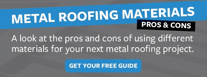 Metal Roofing Materials Pros & Cons Guide