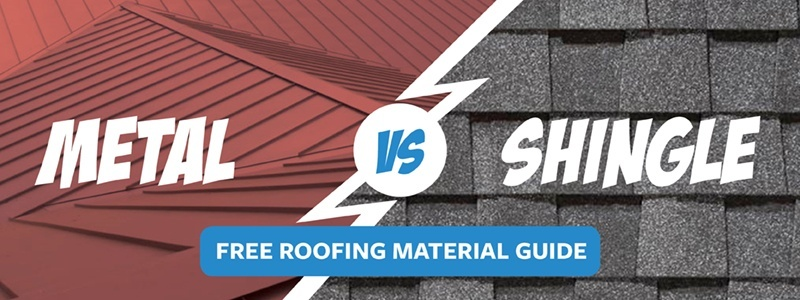 Metal vs Shingle: Comparing Roofing Materials