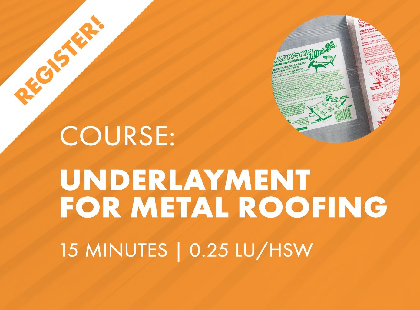 AIA Nano Course - Underlayments of Metal Roofing