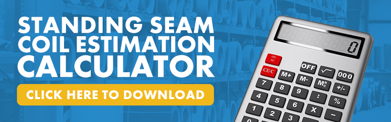 Click here to download the Standing Seam Coil Estimation Calculator!