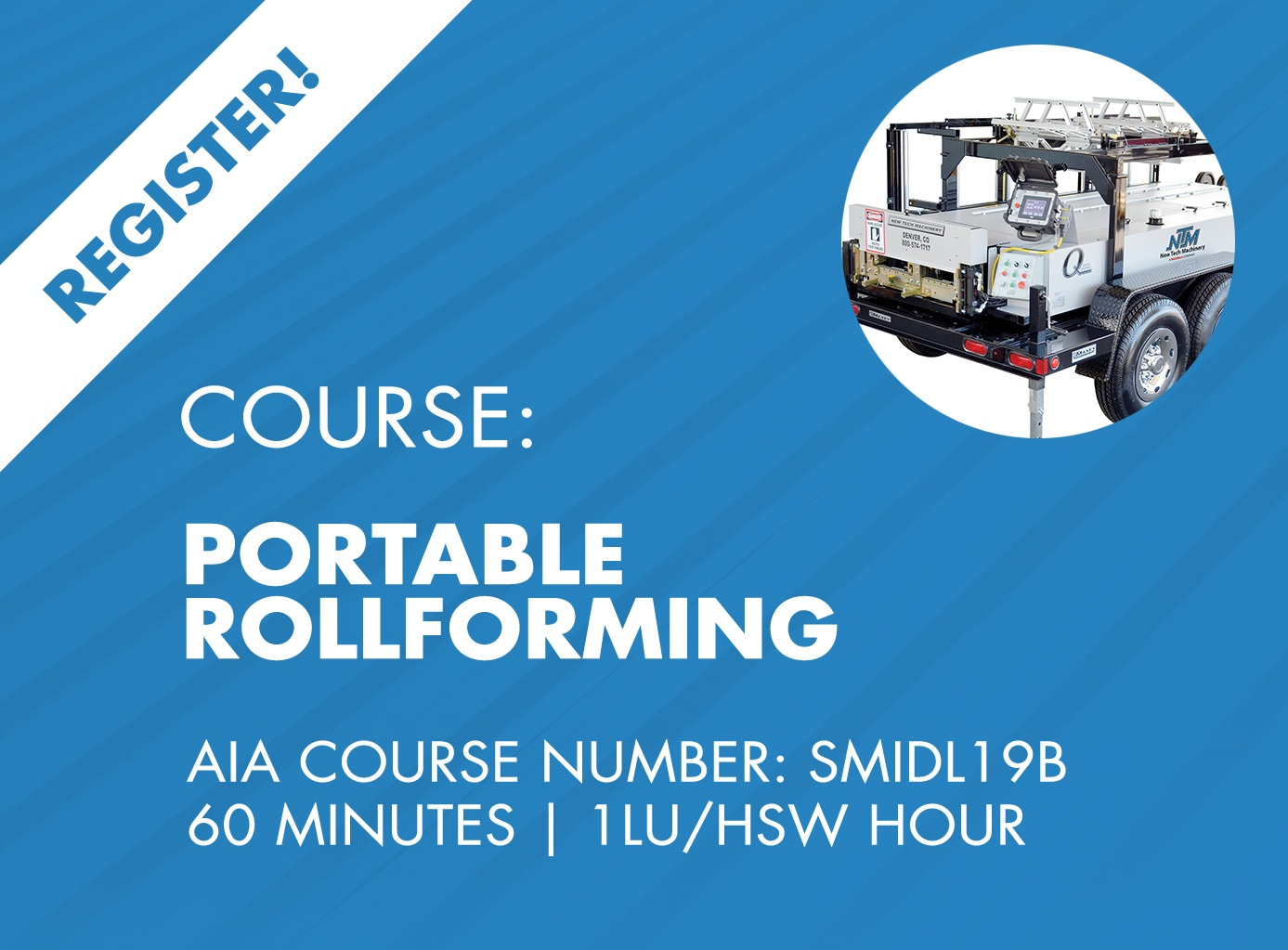 AIA Course - Portable Rollforming & Engineering
