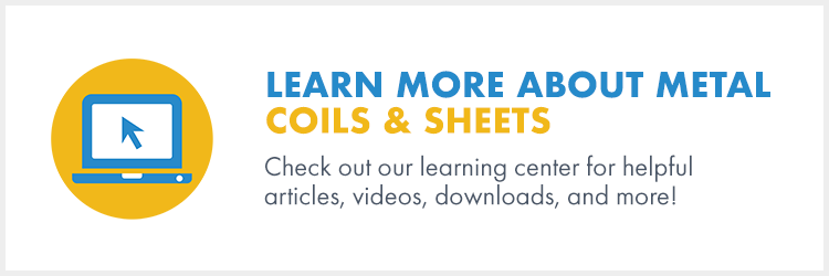 Learn more about metal coils and sheets.