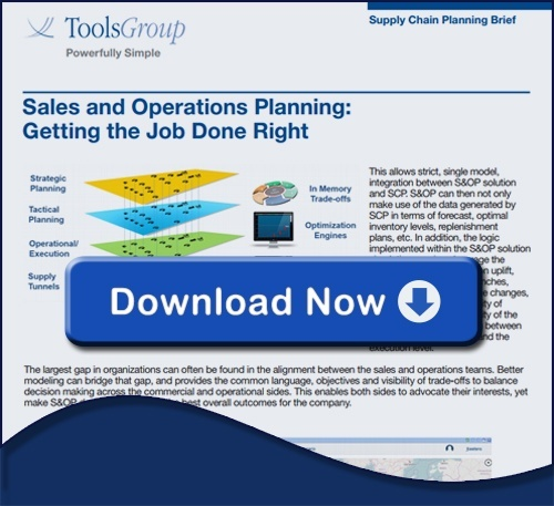 Sales and Operations Planning: Getting the Job Done Right
