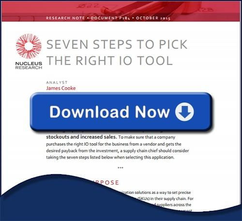 Nucleus Report - 7 Steps to Pick the Right Inventory Optimization Tool