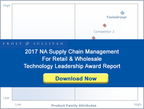 The Frost & Sullivan Supply Chain Management for Retail & Wholesale Technology Leadership Award Report
