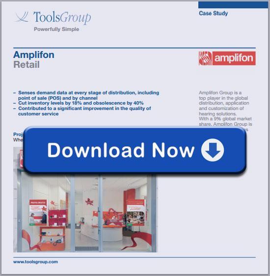 ToolsGroup Amplifon Case Study
