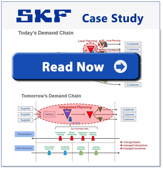 SKF Case Study  - Sales and Operations Planning