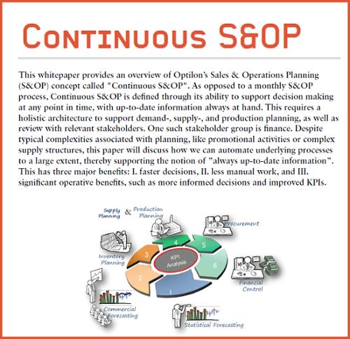 Optilon - Continuous S&OP WP