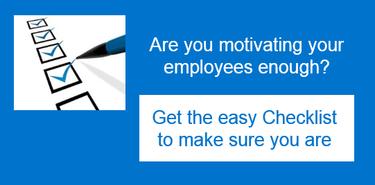 Motivating employees checklist