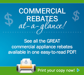 Commercial Appliance Rebate
