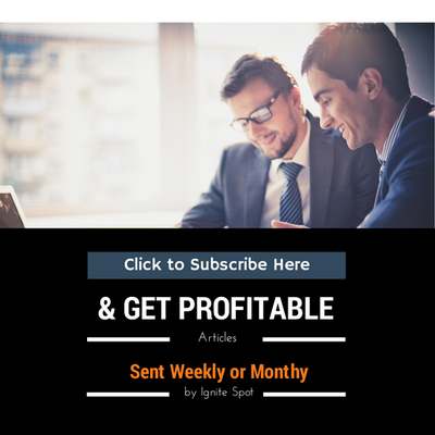 Subscribe to The Ignite Spot Blog and Get Profitable