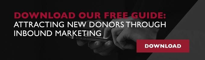 How to use Inbound Marketing to attract new donors