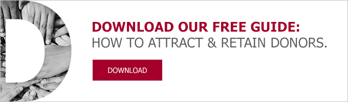 How to attract and retain donors: E-book download