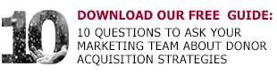 donor acquisition strategies guide download