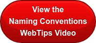 View the Naming Conventions WebTips Video